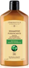 Anti-roos shampoo op basis van berk- en muntextract (300 ml)