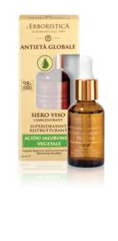 Sérum visage avec acide hyaluronique végétal (30 ml)