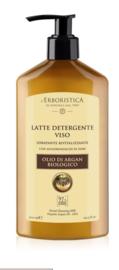 Reinigingsmelk voor het gezicht op basis van arganolie (300 ml)