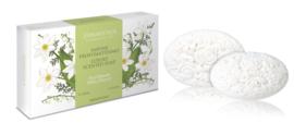 Luxe artisanale zeep meiklokjes – Geschenkverpakking 2 * 150 gram