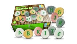Alfabet keien - grote letters (set van 26 stenen)