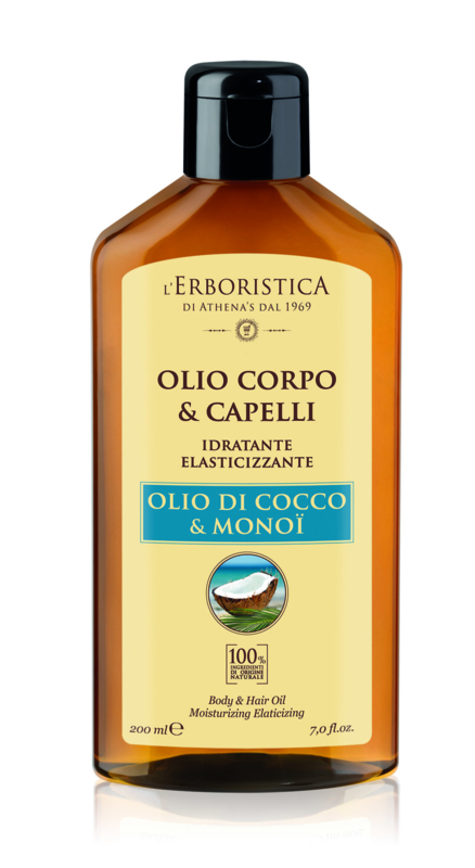Huile coco monoï corps/ cheveux (200 ml)
