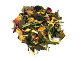 Witte thee, gearomatiseerd