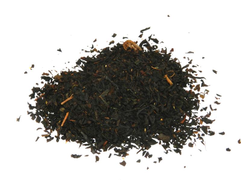 echte mannen thee (zwarte thee met rum)