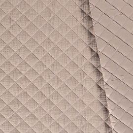 Quilted double gauze sand