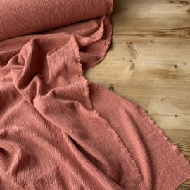 Structuurtricot clay pink