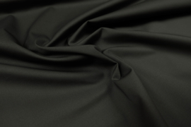 Cotton Stretch Twill Black
