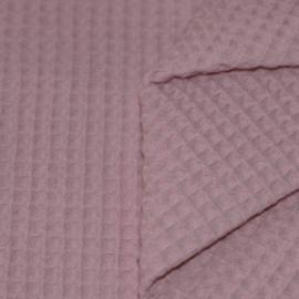 Wafelkatoen oud-roze