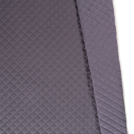 Quilted double gauze soft grey