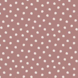 Tricot madelief clay pink