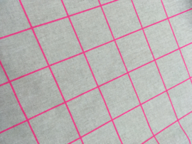 Canvas grid neon