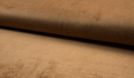 Washed corduroy Camel