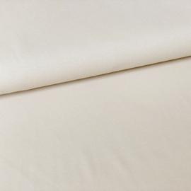 Tricot uni GOTS off-white