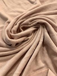 Linen jersey nude pink