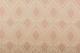 Canvas linnen look arabian oud-roze