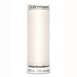 Gutermann 111 Cloud White
