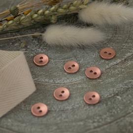 Knoop rosé copper texture 11mm
