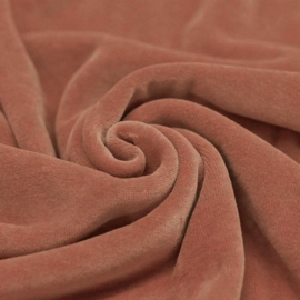 Nicky velours clay pink