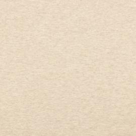 Uni GOTS tricot - Beige Melange
