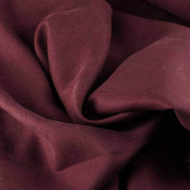 Tencel twill burgundy