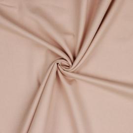 Katoenflanel soft pink