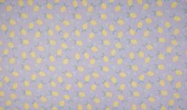 Organic cotton lila lemons