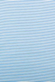 ribtricot streep blauw