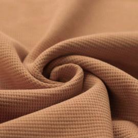 Gewafelde sweater pecan brown