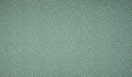 Tricot confetti dusty mint