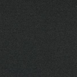 Boordstof grijs gemeleerd dikke rib