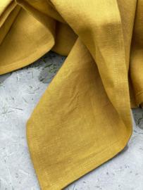 Belgisch linnen Libeco Mustard