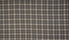 Viscose tricot check grey