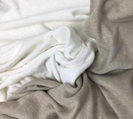 Linnen jersey off-white