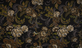 Viscose tricot baroque