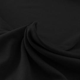 Heavy Viscose tricot zwart