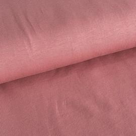 Tricot uni GOTS Clay pink