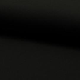 Uni katoentricot zwart
