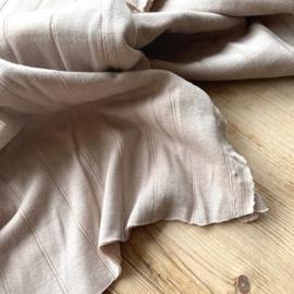 Double gauze tricot nude sand