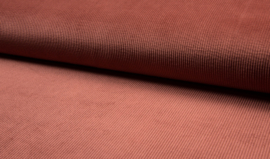 Washed corduroy Marsala