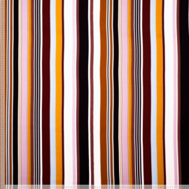 Viscose bright stripes
