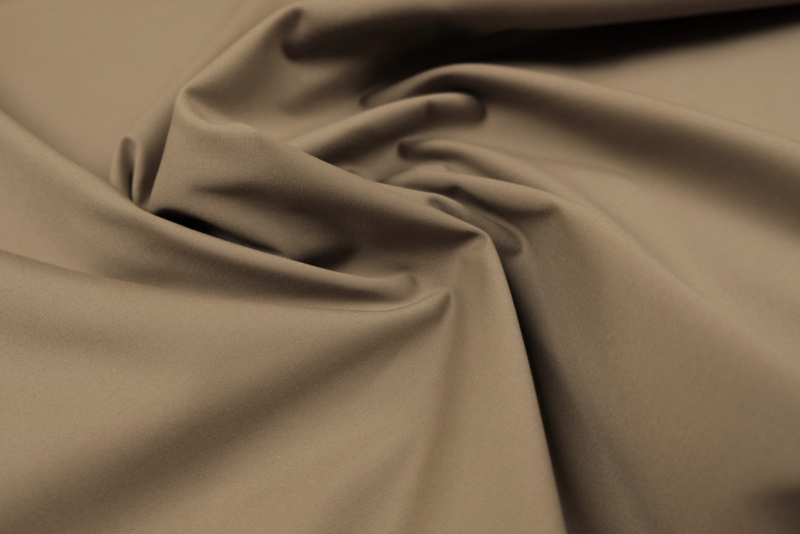 Cotton Stretch Twill Taupe