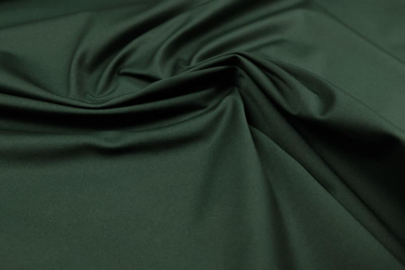Cotton Stretch Twill Forest Green