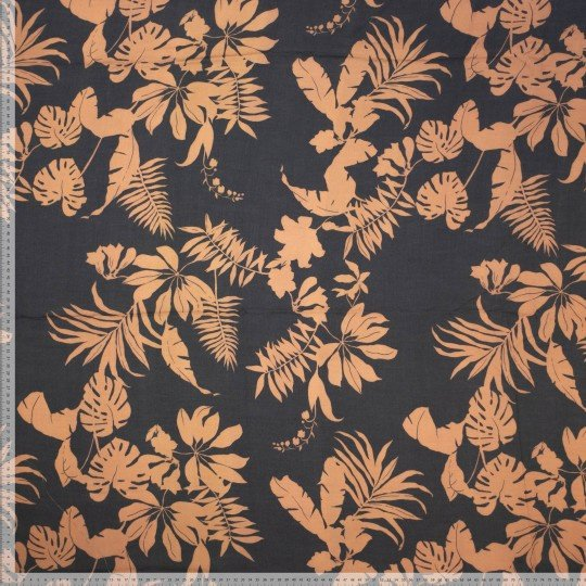 Viscose autumn leaves