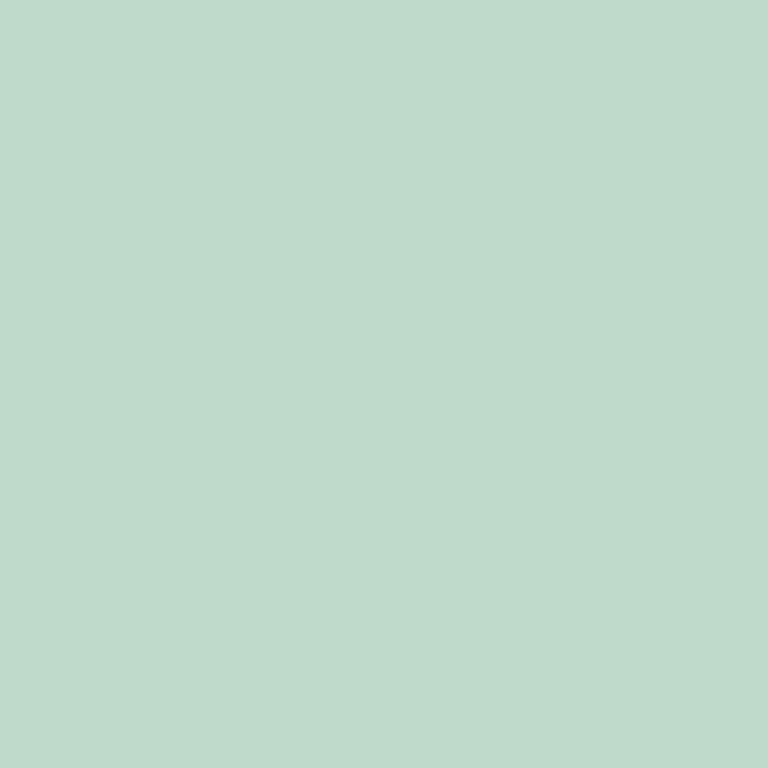 Uni katoen licht mint