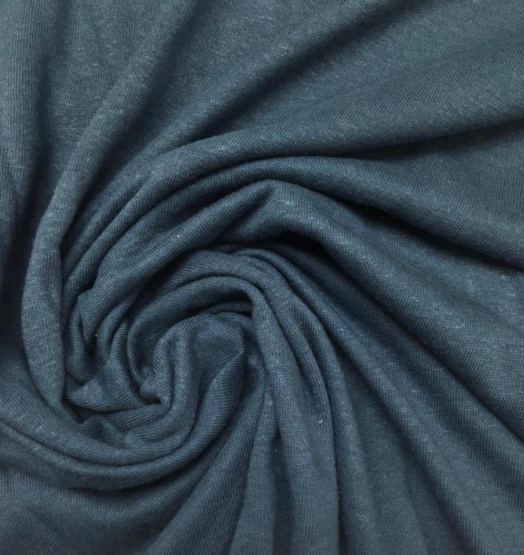 Linnen jersey blue