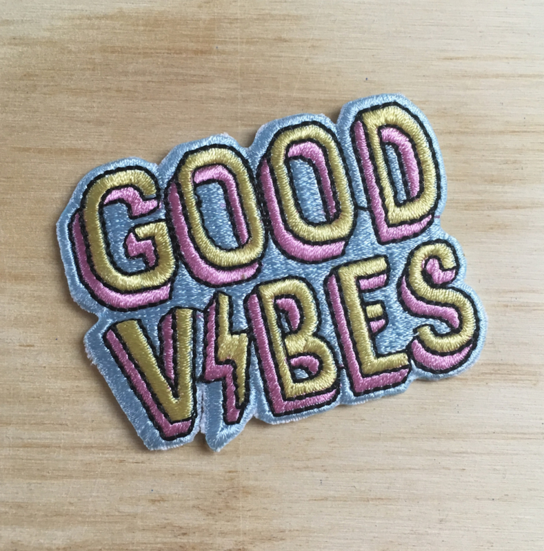 Patch Good Vibes