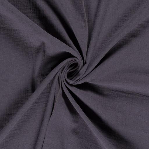 Double gauze bluish grey