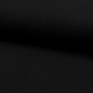Cotton gauze zwart