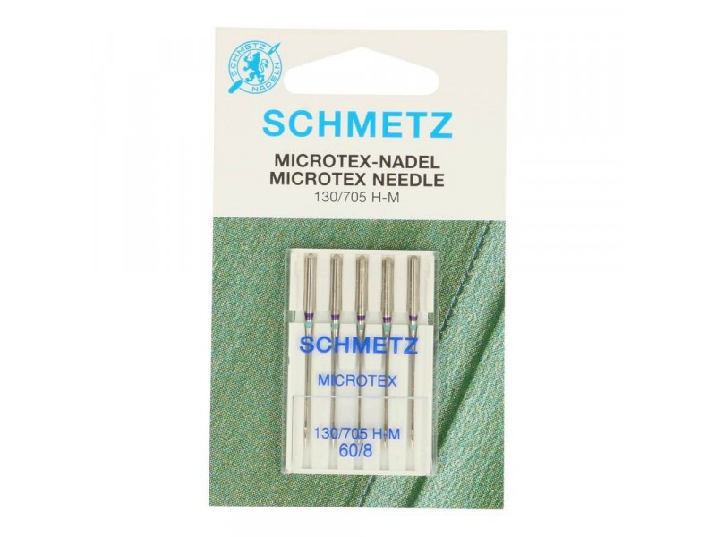 Schmetz - Microtex naalden 60/80