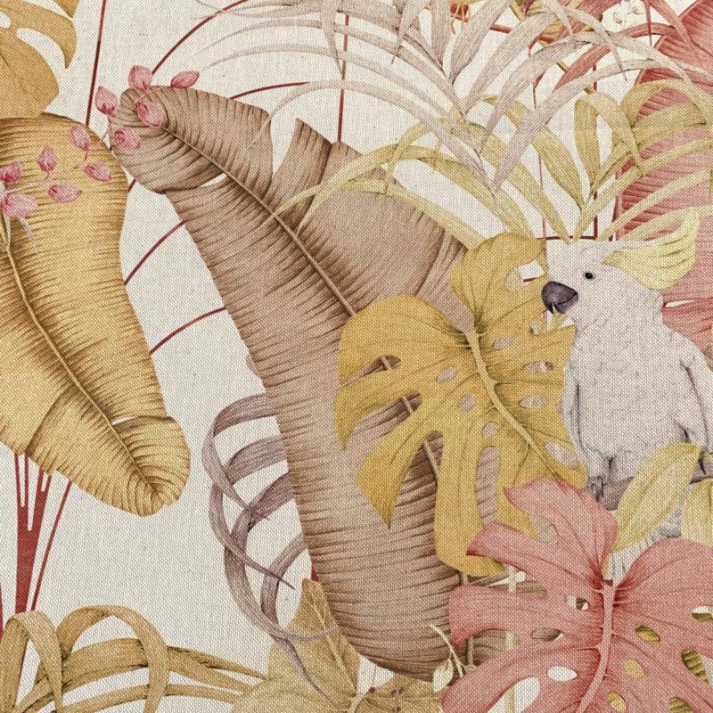 Canvas royal cockatoo